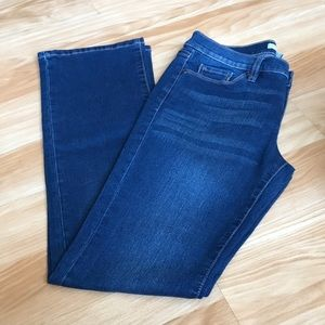 New York company jeans boots cut Sz 6/30